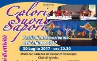 Visualizza la notizia: COLORI, SUONI E SAPORI. Festival Internazionale del Folklore