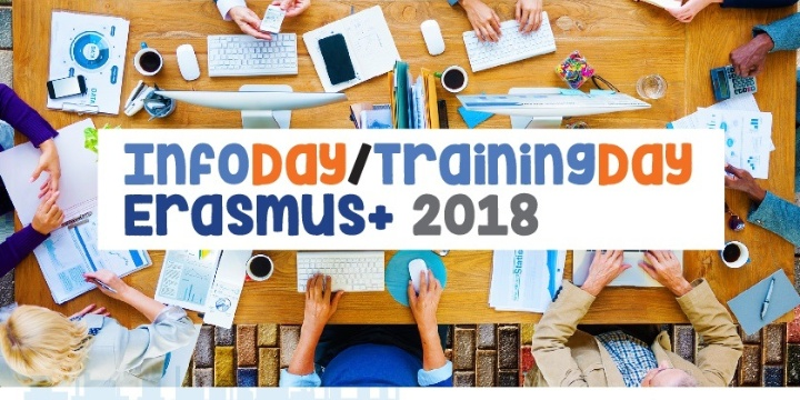 InfoDay/TrainingDay Erasmus + 2018